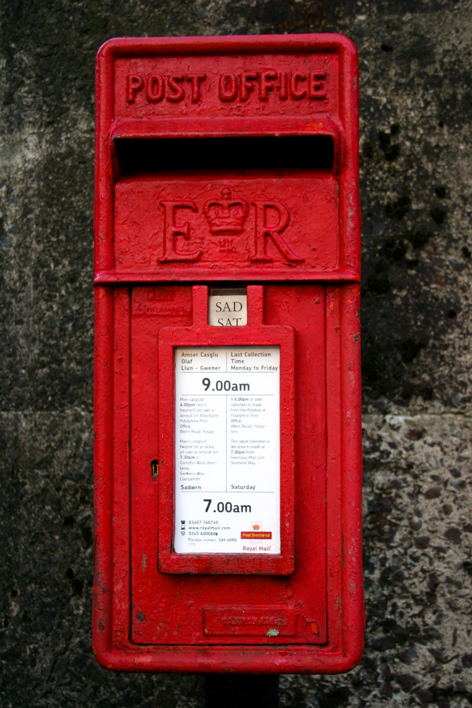 Royal Mail Letter Box.Does Anyone Know What Royal Mail Is Doing It Seems That I