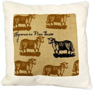 sheep motif cushion covers