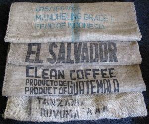 coffee sacks made of jute