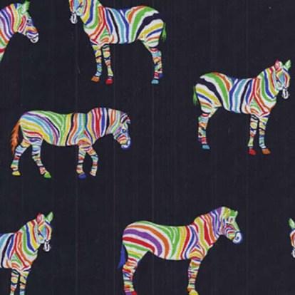 multi coloured giraffe fabric- 142 cm wide