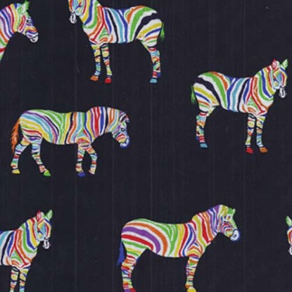 multi coloured giraffe fabric- 142 cm wide