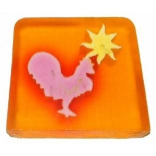 cockerel - tangerine
