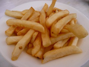 this is a nicer plate of chips than I got!