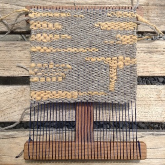 weaving in progress by Becky - one of my UK customers