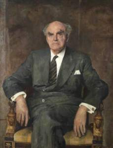 Lord Reith, founder of the BBC (c) BBC; Supplied by The Public Catalogue Foundation