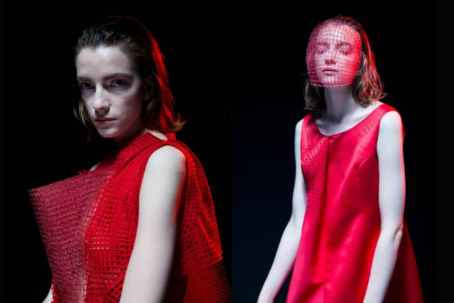 Designer Jim Chen-Hsiang Hu shows off an emerging method of clothes-weaving that overcomes 3D printing in range of texture and thread integrity