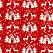 scandinavian linen look xmas design
