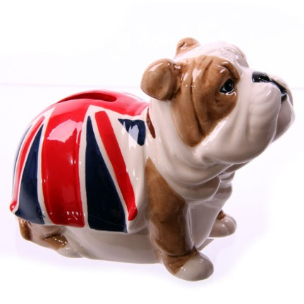 British Bulldog Money Box