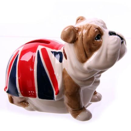 British Bulldog Money Box
