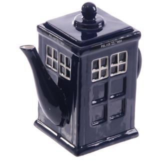 Iconic British Police Box Teapot