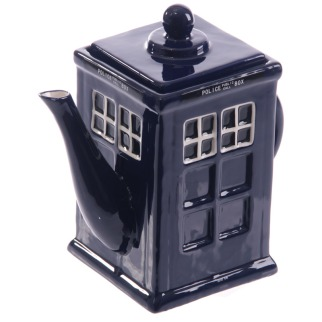Iconic British Police Box Teapot